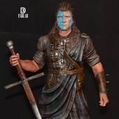 «I am William Wallace» by 3D fab lab  Www.3d-fablab.com #williamwallace #passion3d #3dprinting #3dpaint #3dmodeling #3ddesign #3dmodel #3dprints